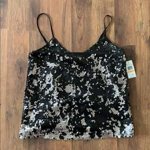1.State Sequin Cami